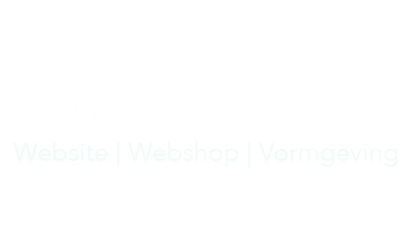 Cliff Demandt website laten maken
