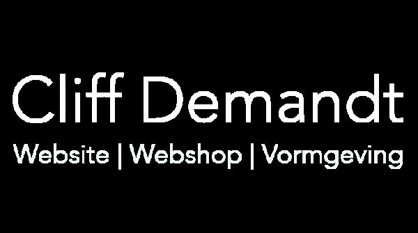 Cliff Demandt website laten maken